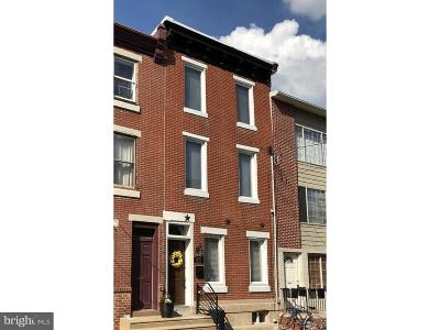 Graduate Hospital Townhouse For Sale: 1429 Fitzwater Street