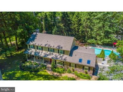 Newtown Square Single Family Home Active Under Contract: 305 French Road
