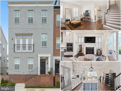 Frederick Townhouse For Sale: 9020 Templeton Drive