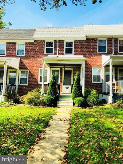 Baltimore MD Townhouse For Sale: $155,000