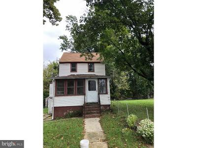Swedesboro Single Family Home For Sale: 111 Water Street