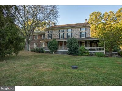 Newtown Square Single Family Home Active Under Contract: 3319 Sawmill Road