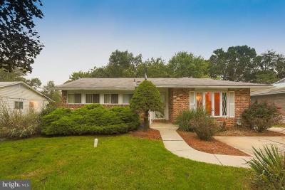 Pikesville Single Family Home For Sale: 8244 Brattle Road