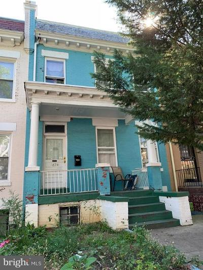 Columbia Heights, Columbia Heights/U St Townhouse For Sale: 624 Kenyon Street NW