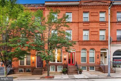 Baltimore City Townhouse For Sale: 2406 Saint Paul Street