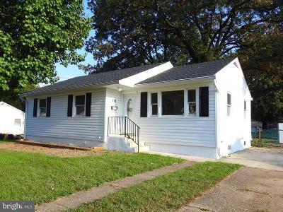 Glen Burnie Single Family Home For Sale: 413 Burwood Avenue