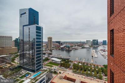 Baltimore City Condo For Sale: 10 E Lee Street #2309
