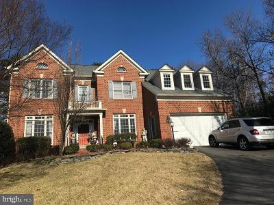 Lorton Single Family Home Active Under Contract: 8601 Monacan Court