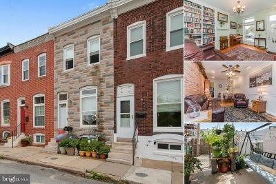 Locust Point Townhouse For Sale: 1427 Lowman Street