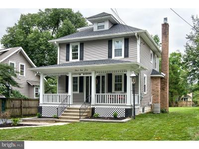 Moorestown Single Family Home For Sale: 410 S Washington Avenue