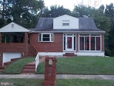Baltimore Single Family Home For Sale: 7621 Wilhelm Avenue