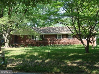 Salisbury Single Family Home For Sale: 508 Gunby Road