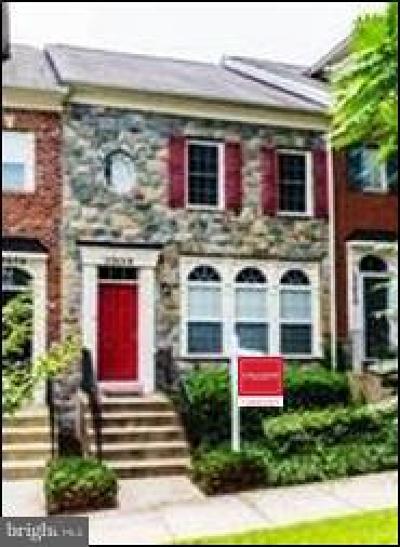 Clarksburg Townhouse For Sale: 23628 Public House Road