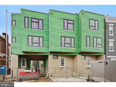 Brewerytown Townhouse For Sale: 1305 N 27th Street #F
