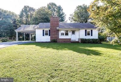 Ellicott City Single Family Home For Sale: 4109 Old Columbia Pike