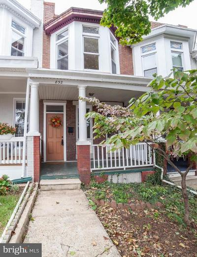 Hampden Townhouse For Sale: 832 37th Street