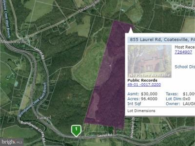 Coatesville Residential Lots & Land For Sale: 855 Laurel Road