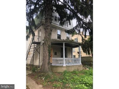 Germantown Multi Family Home Under Contract: 237-39 E Wister Street