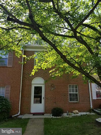 Woodbridge Townhouse For Sale: 4598 Central Park Drive