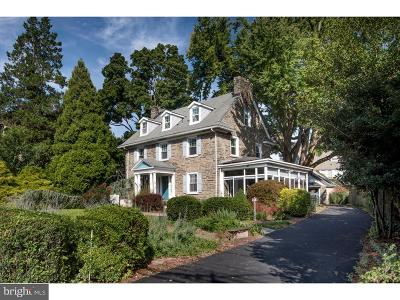 Bala Cynwyd Single Family Home For Sale: 111 Montgomery Avenue