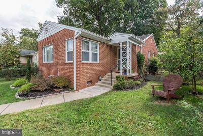 Silver Spring Single Family Home For Sale: 113 Whitmoor Terrace