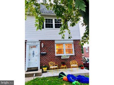 Ridley Park Single Family Home For Sale: 108 Baldwin Avenue