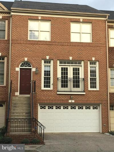 Rockville Townhouse For Sale: 6 Crofton Hill Court