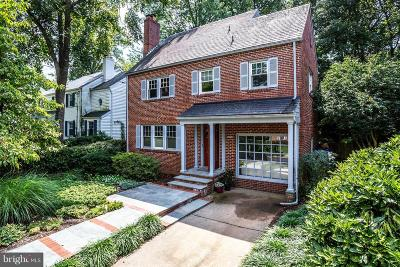 Chevy Chase Single Family Home For Sale: 2726 Blaine Drive