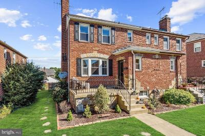 Baltimore Single Family Home For Sale: 2416 Pelham Avenue