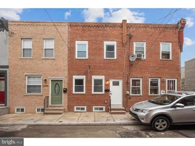Point Breeze Townhouse For Sale: 2343 Greenwich Street