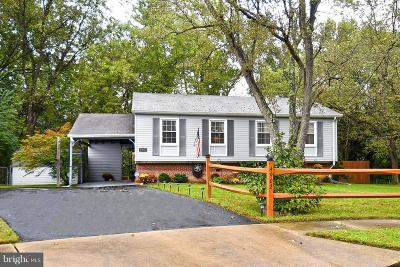 Alexandria Single Family Home Active Under Contract: 4902 Shirley Street