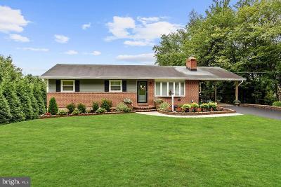 Sykesville, Eldersburg Single Family Home For Sale: 1502 Buckhorn Road