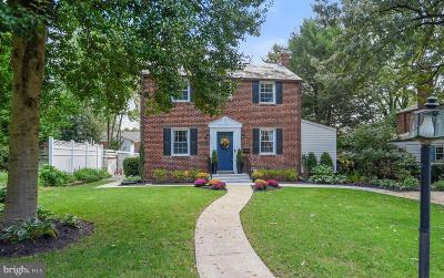 Silver Spring Single Family Home For Sale: 9411 Woodland Drive