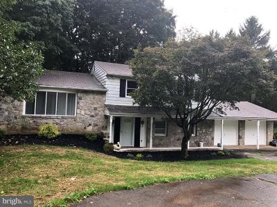 Huntingdon Valley Single Family Home For Sale: 158 County Line Road