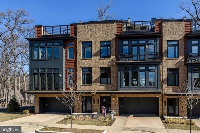 Bethesda MD Townhouse For Sale: $1,395,000
