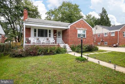 Silver Spring Single Family Home For Sale: 10221 Douglas Avenue