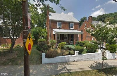 Brookland Single Family Home For Sale: 3610 14th Street NE