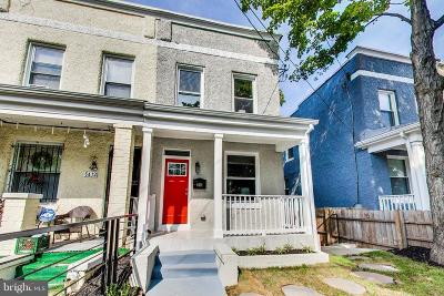 Washington Townhouse For Sale: 5414 9th Street NW