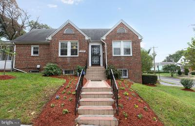Washington Single Family Home For Sale: 2201 Upshur Street NE