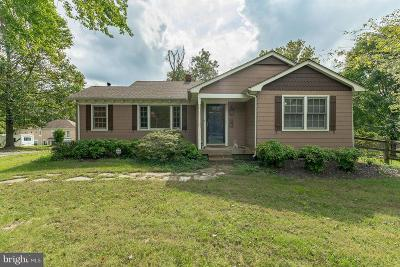 Brandywine Single Family Home For Sale: 6807 Burch Hill Road