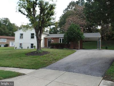 Oxon Hill Single Family Home For Sale: 1712 Calais Court