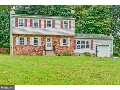 Ewing Single Family Home For Sale: 8 Clover Hill Circle