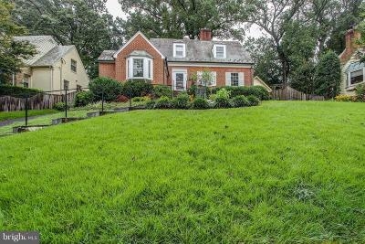 Bethesda MD Single Family Home For Sale: $750,000
