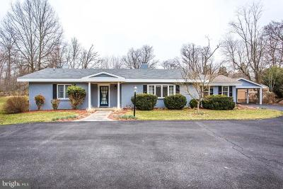 Poolesville Single Family Home For Sale: 15811 Hughes Road