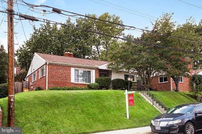 Takoma Park Single Family Home For Sale: 8114 Lockney Avenue