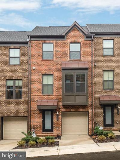 Fairfax, Fairfax Station Townhouse For Sale: 9261 Wood Violet Court