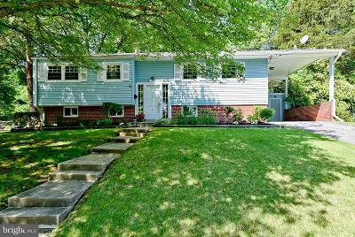 Alexandria Single Family Home For Sale: 8512 Wagon Wheel Road