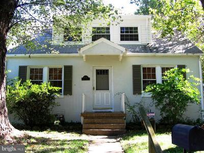 Silver Spring Single Family Home For Sale: 9507 Dallas Avenue