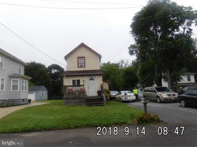 Vineland Single Family Home For Sale: 316 Oxford Street