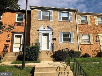 Temple Hills Townhouse For Sale: 6534 Beechwood Drive #18